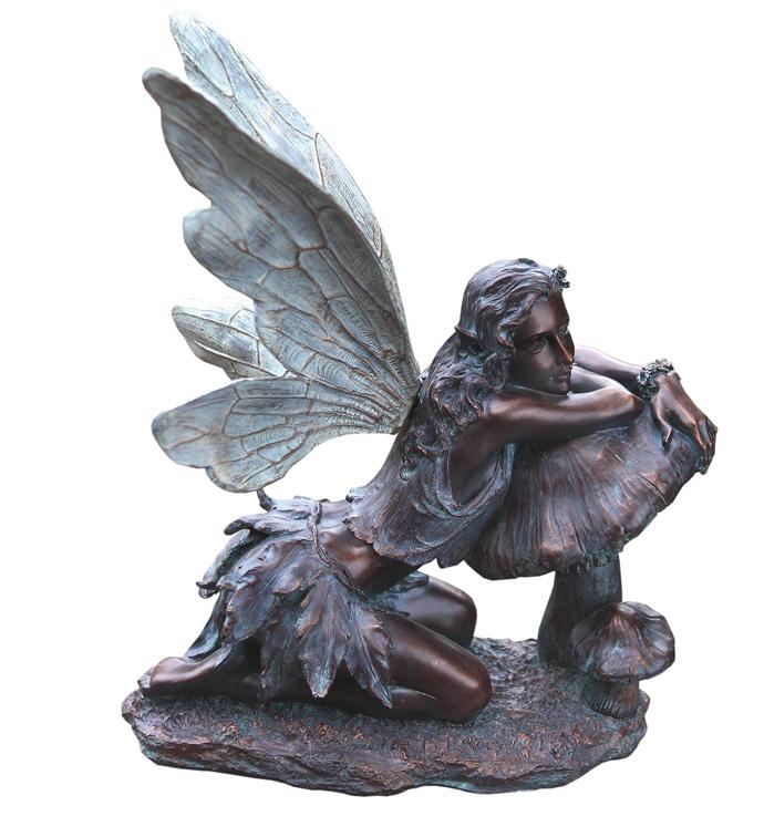 Brnz Fairy on Mushroom