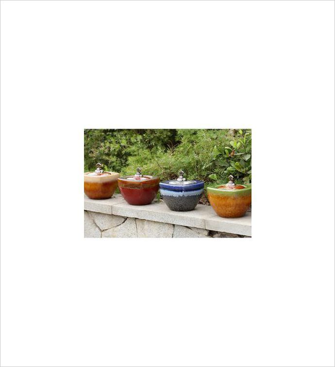 Large Fire Pot, 4 Assorted