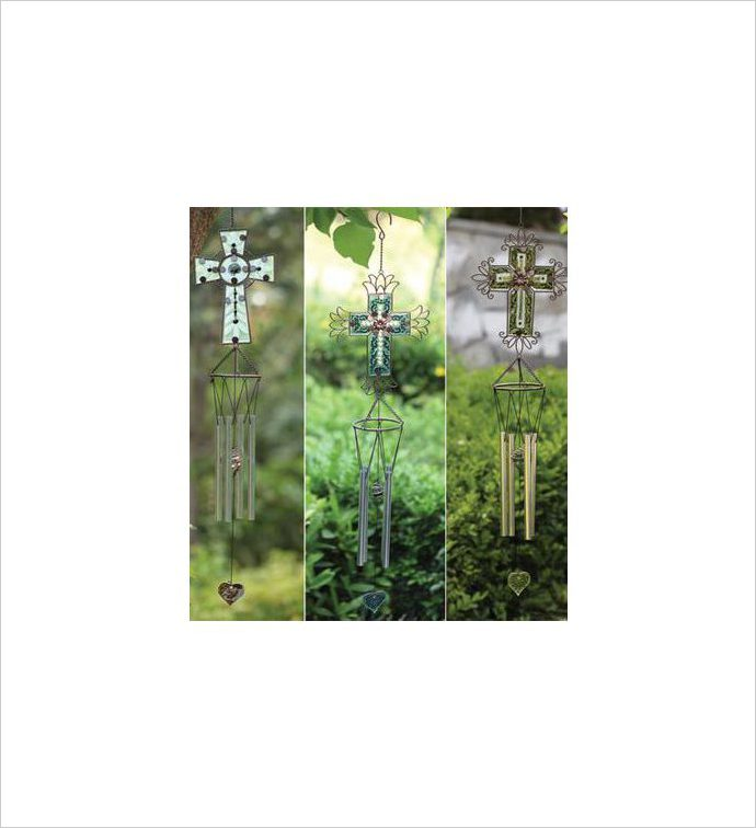 Cross Wind chime, 3 Assorted