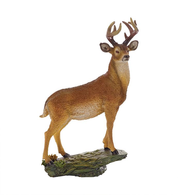 Standing Deer Figure