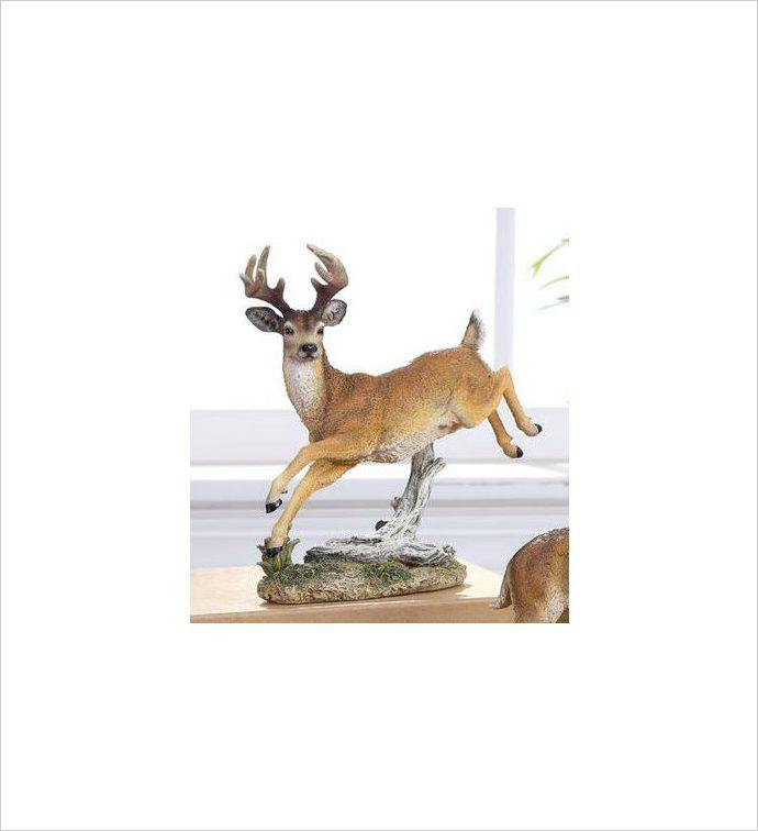 Leaping Deer Figure