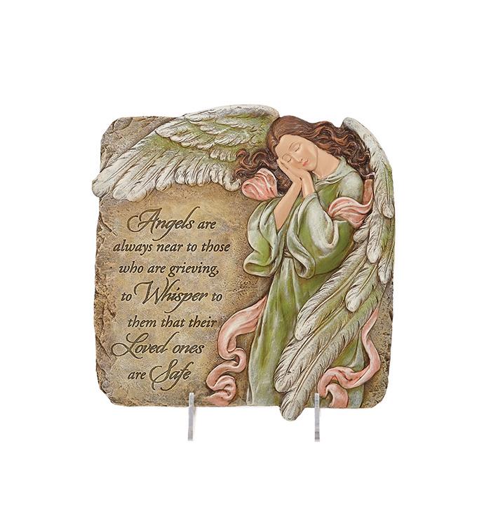 Memorial Angel Plaque