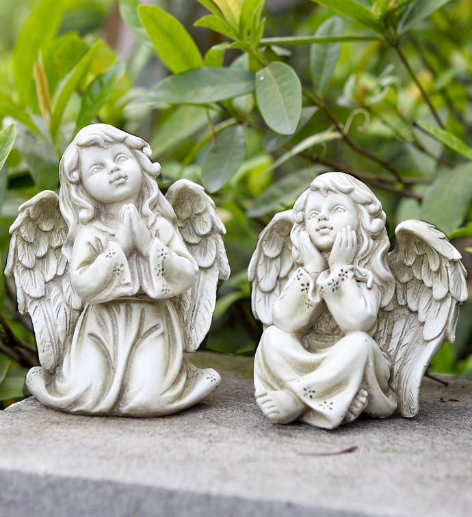 Angel Girl Figure, 2 Assorted