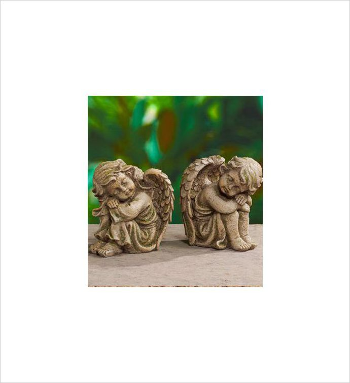Sleeping Cherubs, 2 Assorted