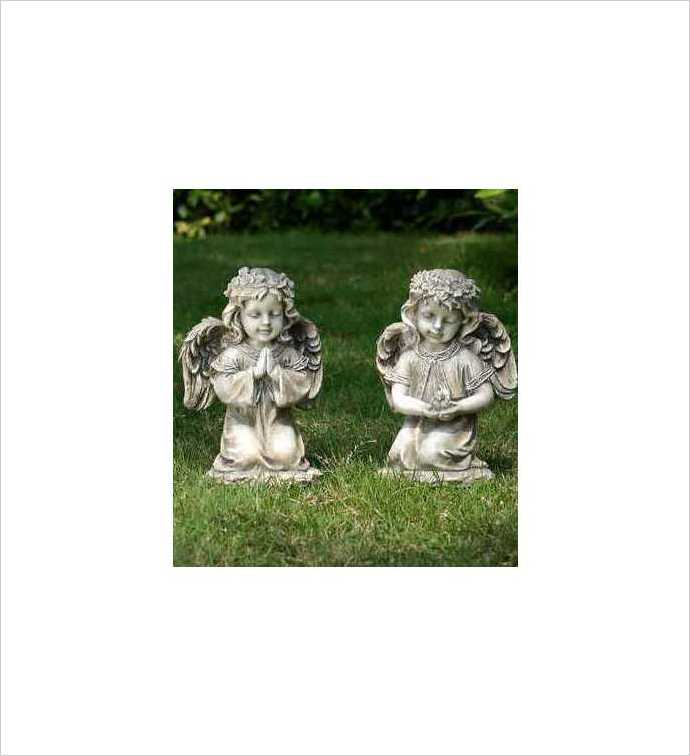 Kneeling Angel, 2 Assorted