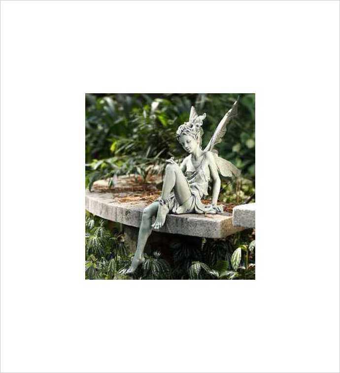 Garden Sitting Fairy