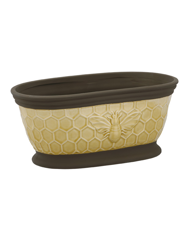 Bumble Bee Oval Planter