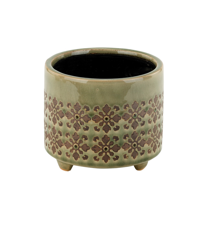Sage Footed Planter