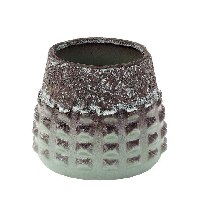 Aged Iron Textured Cache