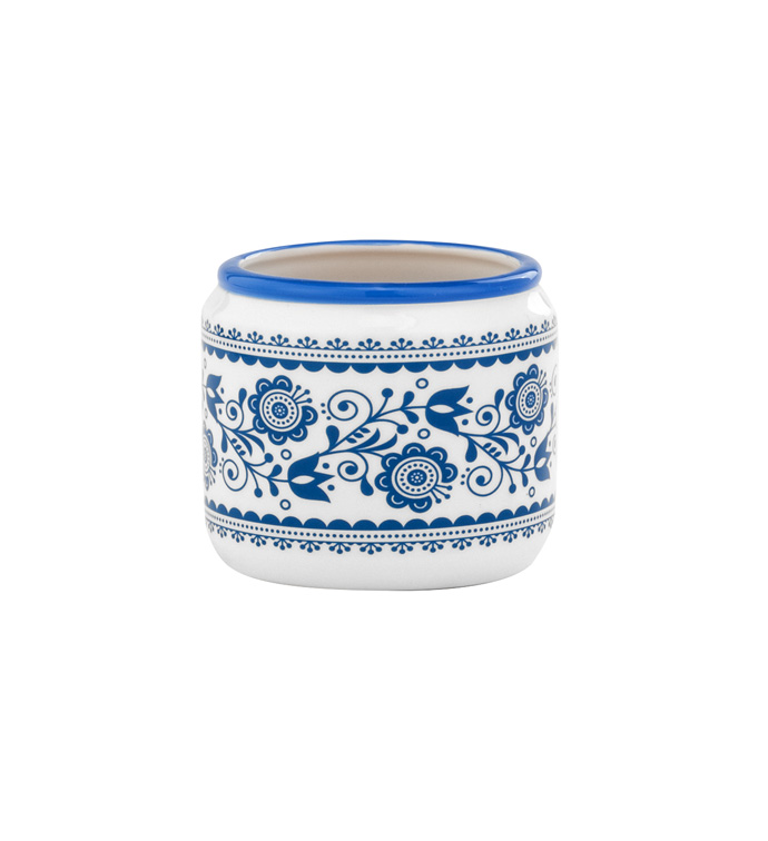Small Delft Blue Crock