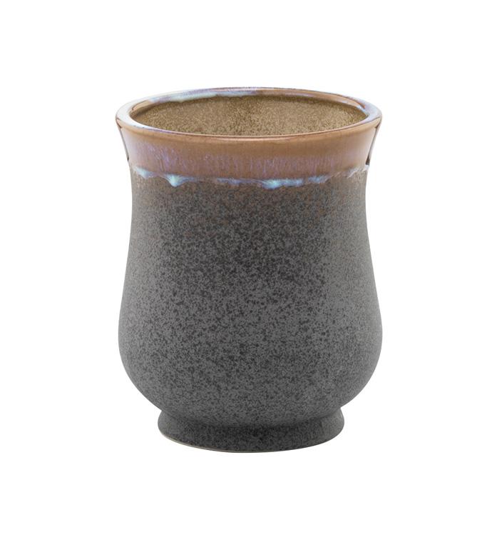 Grey Stone Vase