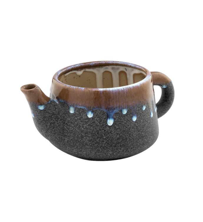 Grey StoneTea Pot
