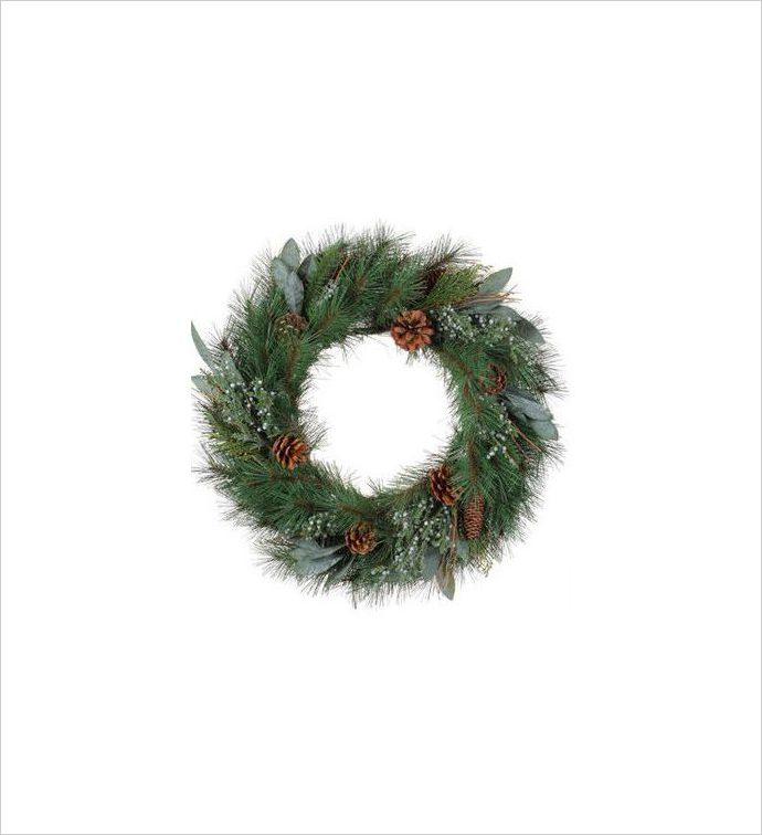 Pine and Juniper Wreath