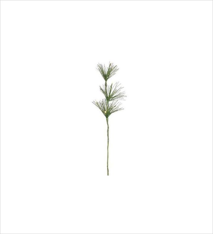 Green LED Grass x 3