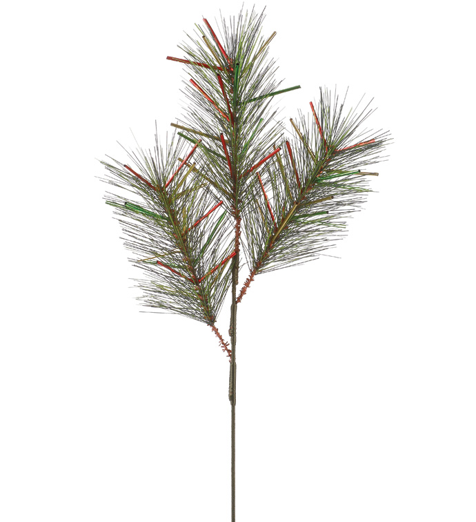 Mix Tinsel Pine Pick