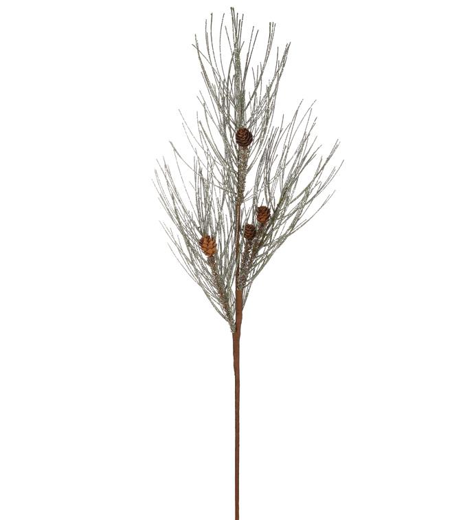 Glitter Pine and Cone Spray