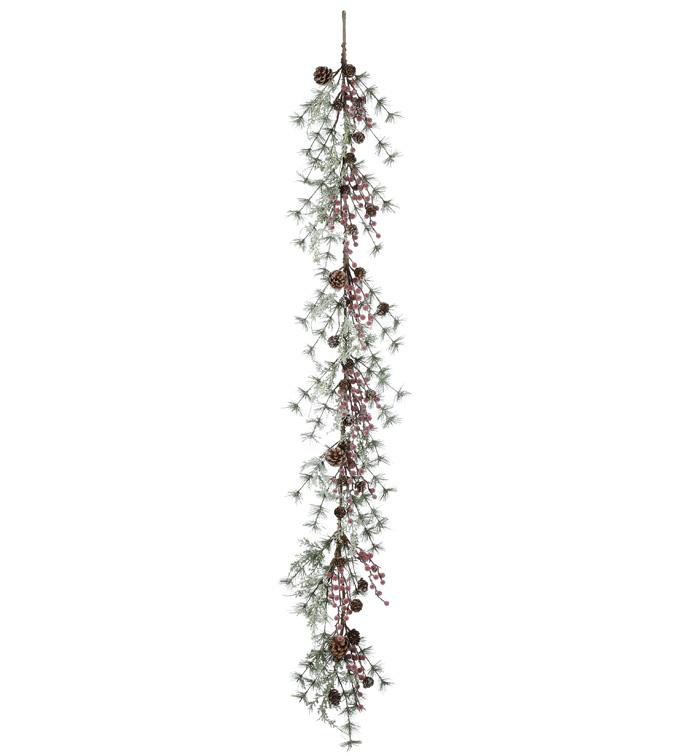 Berry/Pine Cone Garland