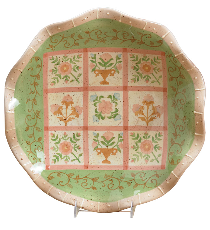 Country Quilt Plate