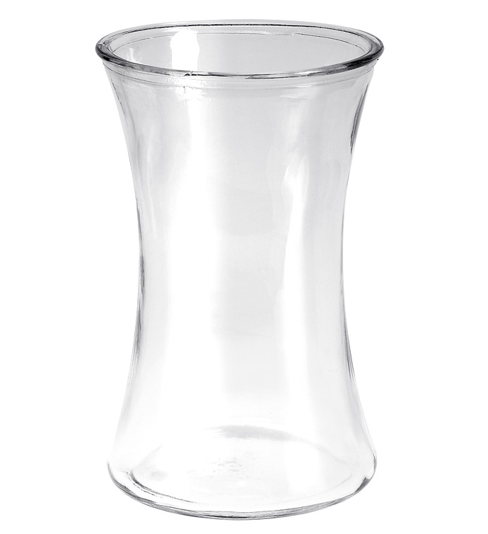 8 Clear Gathering Vase - Cs 9