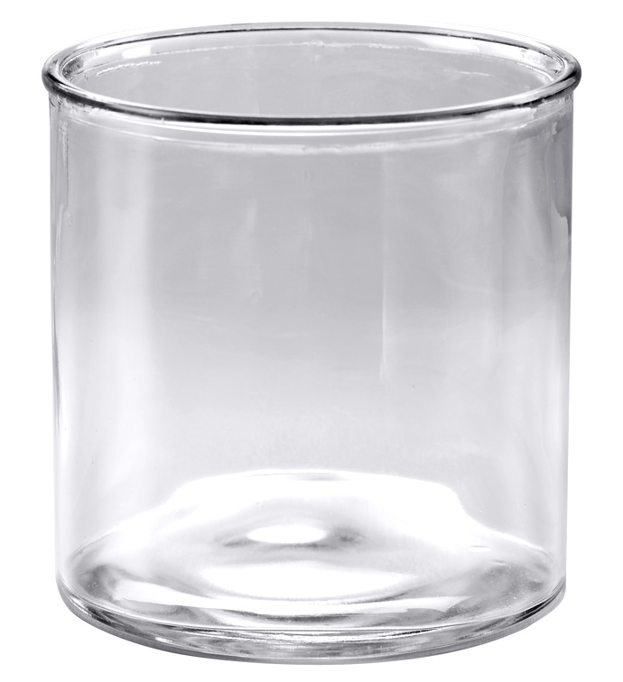 "6"" Clear Glass Cylinder - Cs 8"