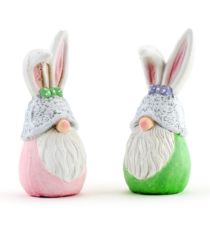 Bunny Gnomes, 2 Assorted