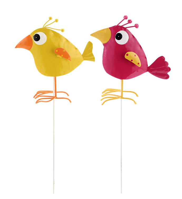 Whimsey Bird Pick, 2 Assorted