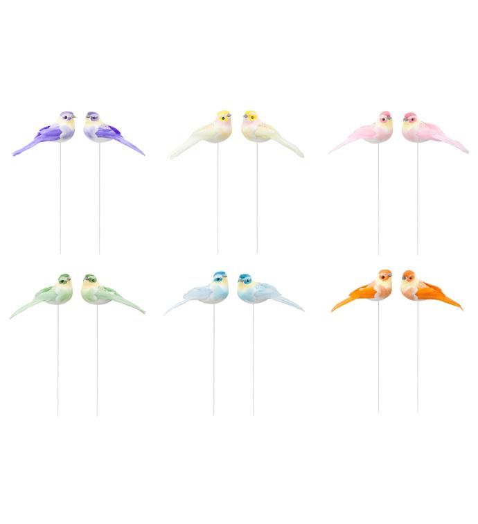 Song Bird Pick, 6 Assorted