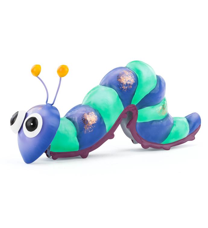 Purple/Aqua Caterpillar