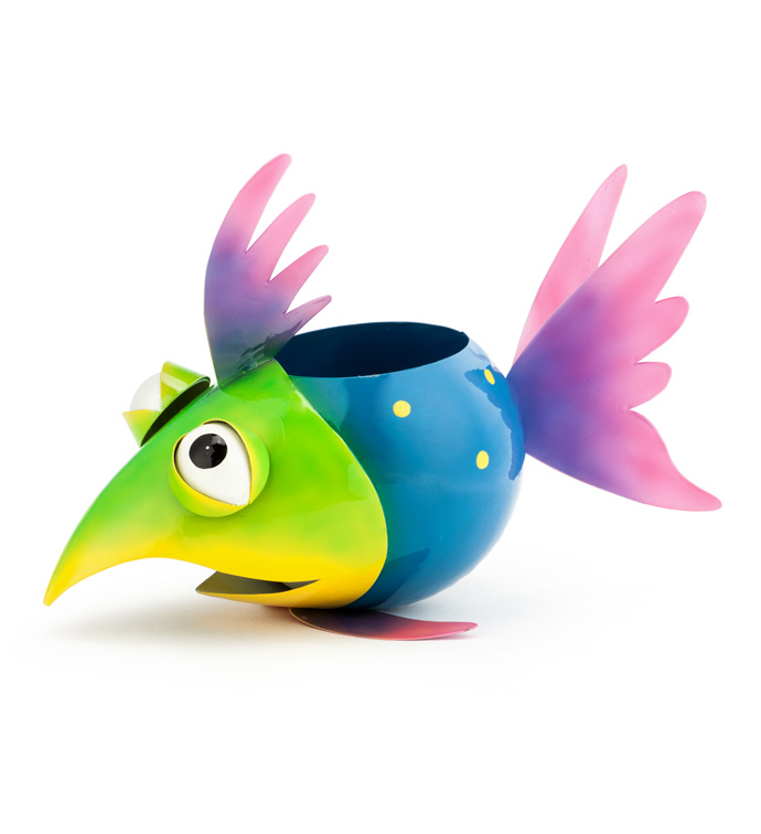 Whimsy Fish Planter