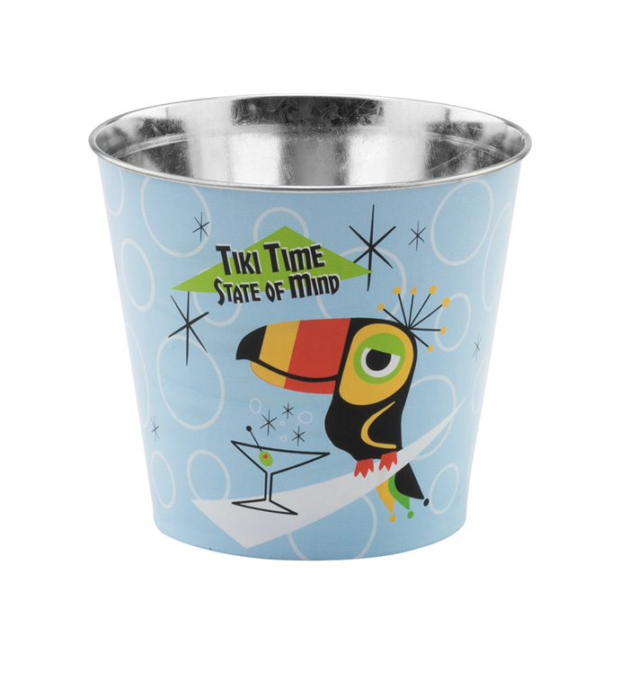 "6.5"" Tiki Time Pot Cover"