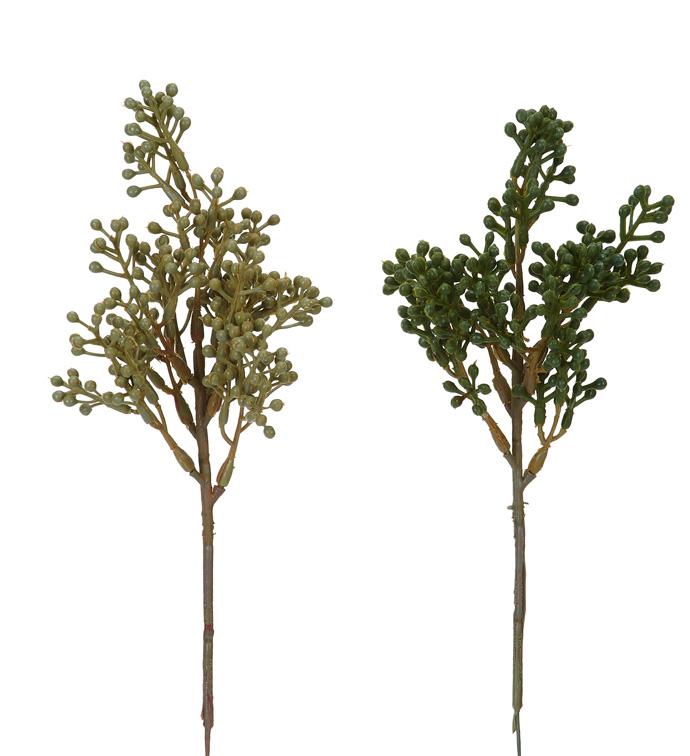 Seeded Eucalyptus Pick, 2 Assorted