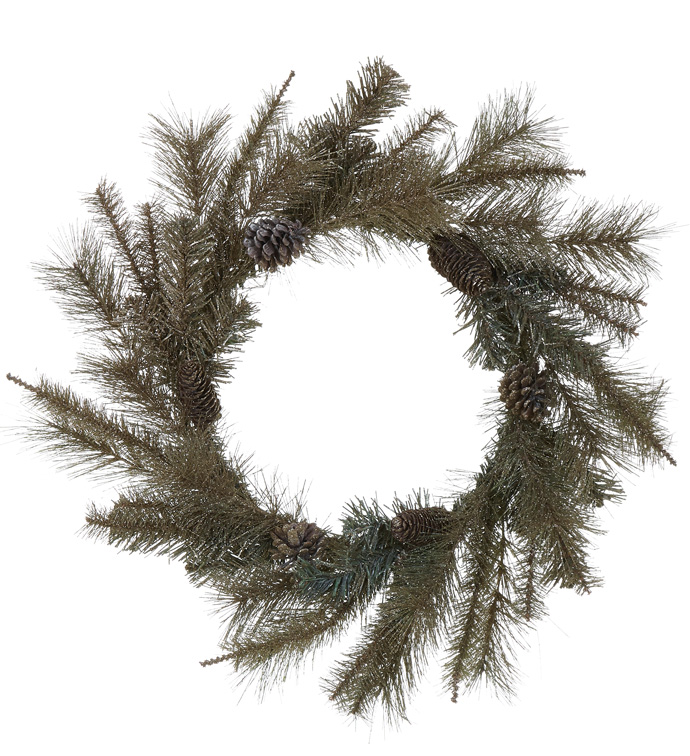 Champagne Mix Pine Wreath