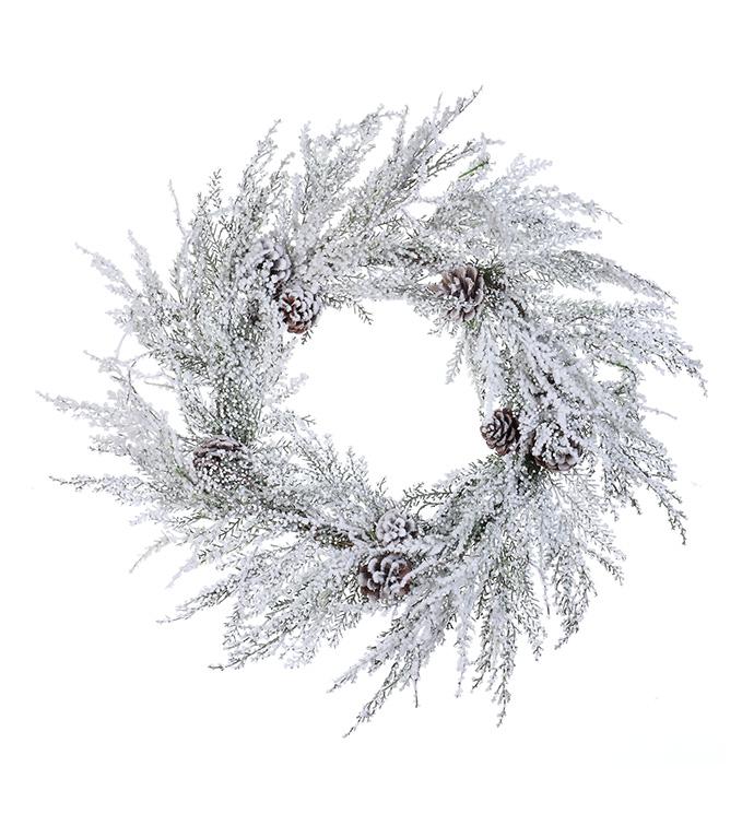 Winter Whites Wreath