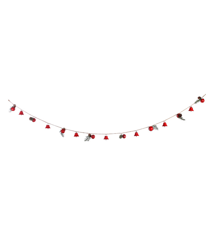 Red Bell Rope Garland