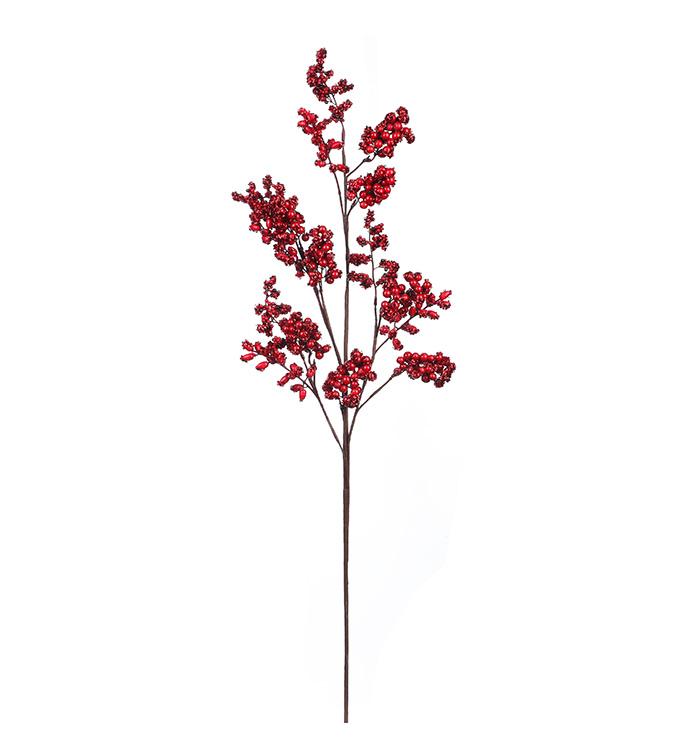 Red/Burgundy Mix Berry Spray