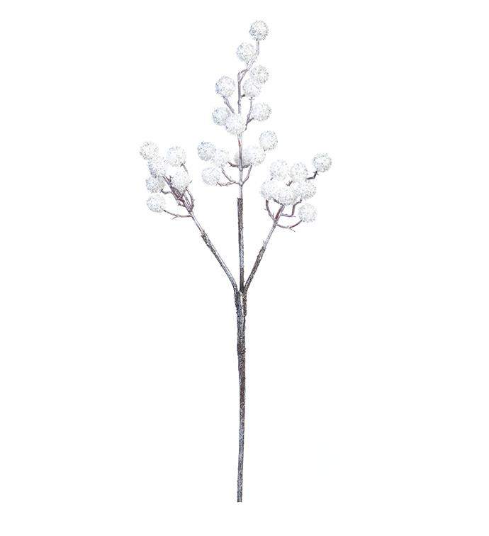 White Tinsel Berry Pick