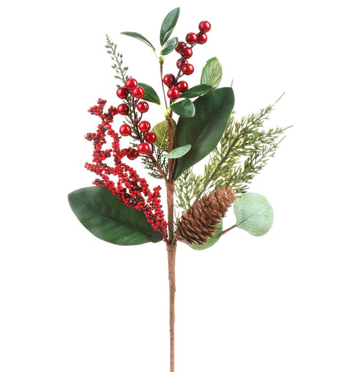 Eucalyptus Red Berries Pick
