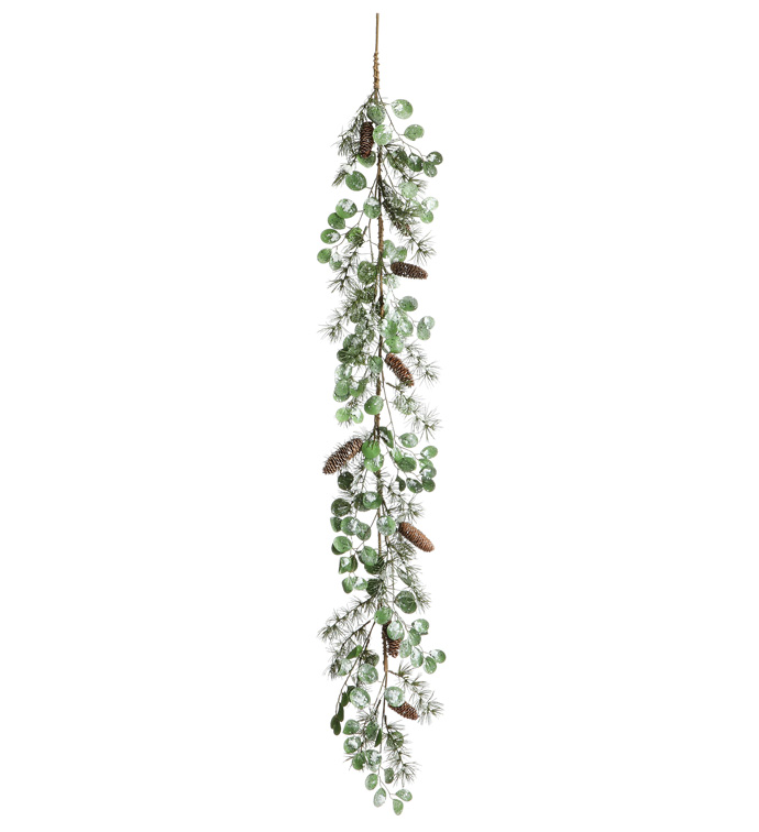 Shimmer Pine/Succulent Garland