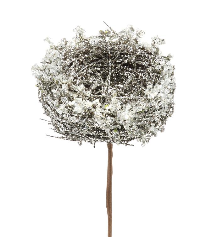 Silver Leaf Nest Pick