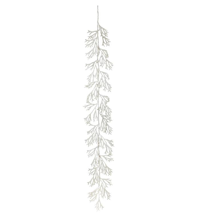 Silver Staghorn Fern Garland
