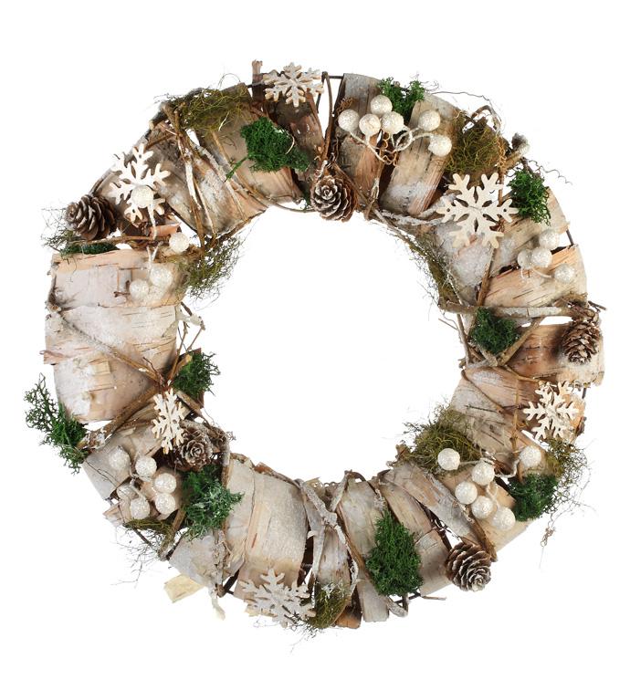 Birch/Snowflake Wreath