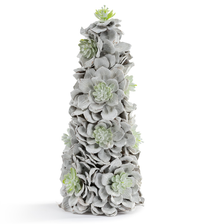 Frosted Succulent Tree