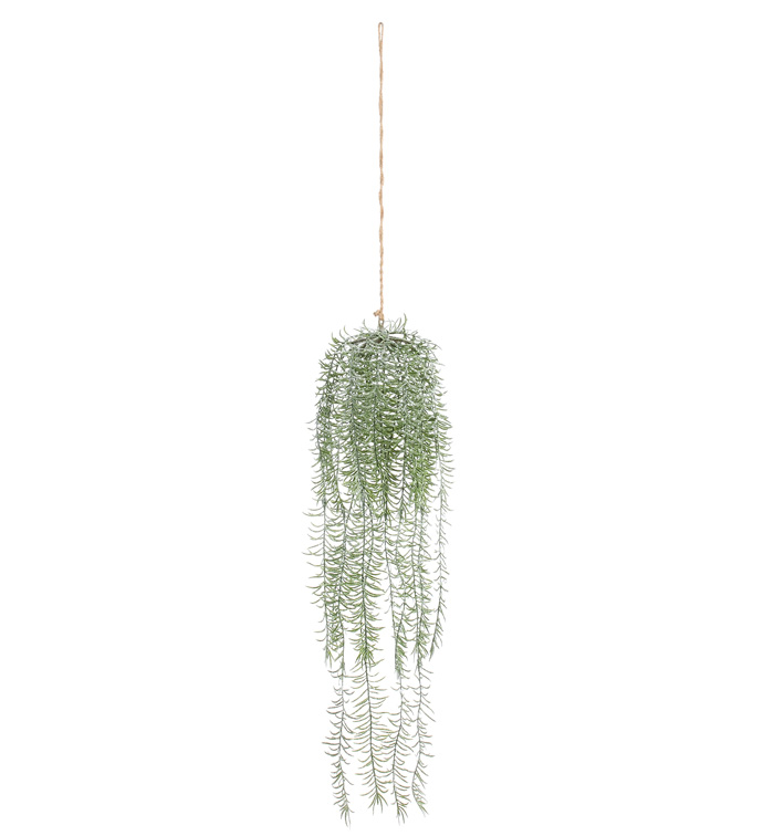 Frosted Hanging Pine Vine
