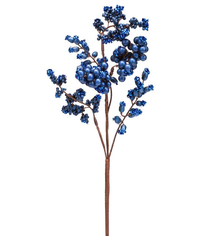 Blue Glitter Mixed Berry Pick