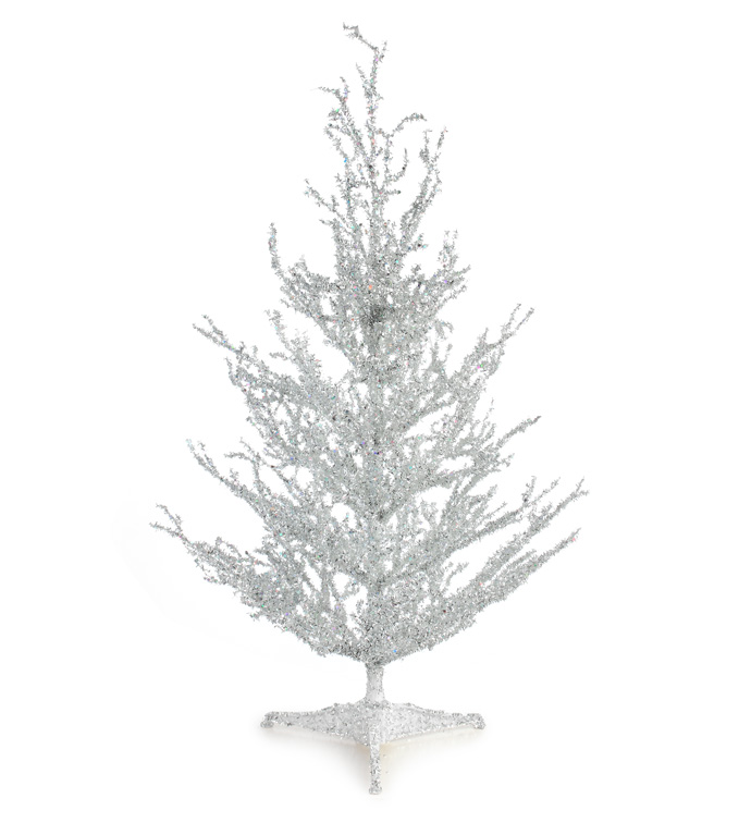 Silver Sparkle Tree
