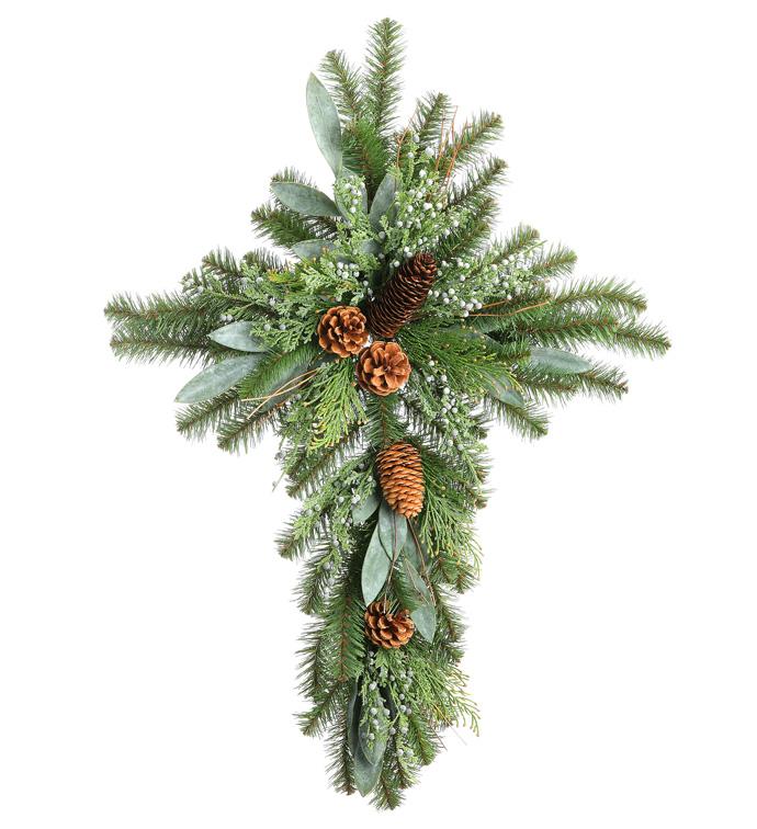 Juniper Berry Eucalyptus Pine Cross