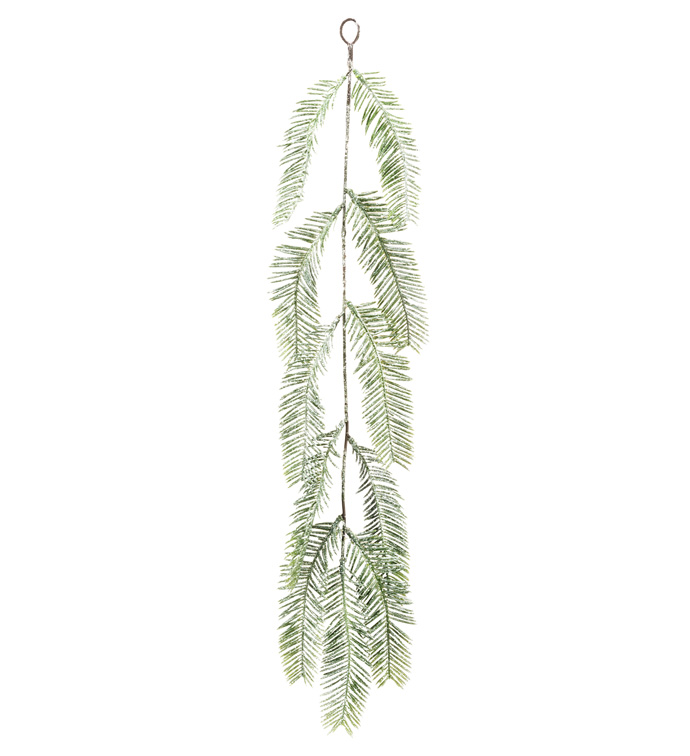 Frosted Fern Hanging Spray