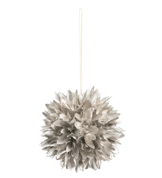 Platinum Pod Sphere Ornament