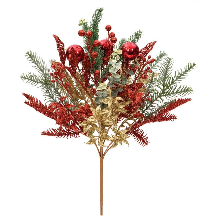 Mixed Glitter Pine Pot Filler