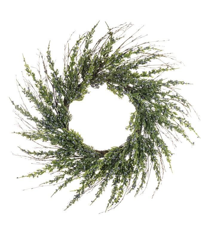Mountain Juniper Wreath